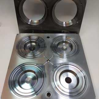 Mold for vial blowing 2