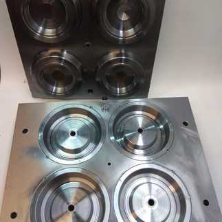 Mold for vial blowing 3